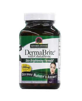 Nature's Answer DermaBrite with Glutathione Vegetarian Capsules 60's