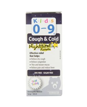 Kids 0-9 Cough & Cold Night Time Formula Syrup 100 mL