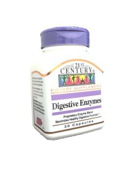 21st Century Digestive Enzymes Capsules