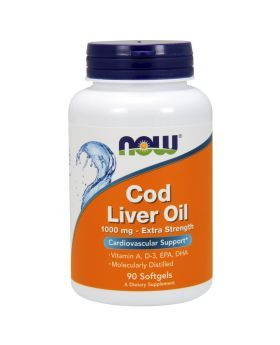 Now Cod Liver Oil Softgels 90's