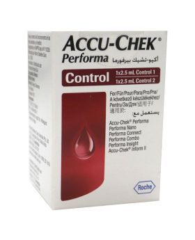 Accu-Chek Performa Control Solution 1 and 2 2.5 mL