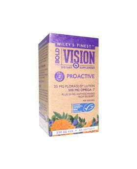 Wiley's Finest Bold Vision Proactive Softgels 60's
