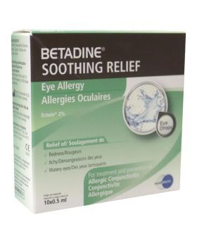 Betadine Soothing Relief Eye Allergy 0.5 mL 10's