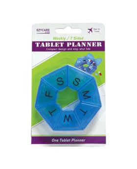 Ezycare Weekly 7-Sided Tablet Planner 17009