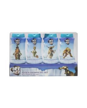 Castle Ice Age Bath and Shower Gel Travel Pack 75 mL 4's PROMO