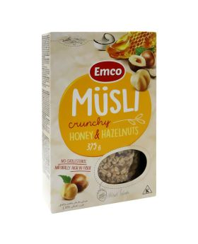 Emco Crunchy Musli With Honey and Nuts 375 g Promo