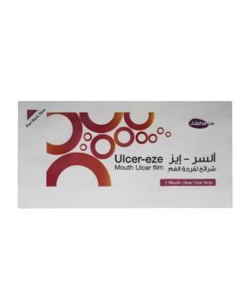 Ulcer-Eze Mouth Ulcer Film Strips 12's