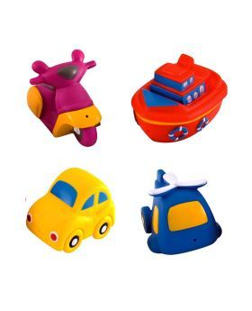 Canpol Babies Baby Toy Set for Play and Bathing Transport 4's 2/996