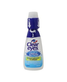 Clear Eyes Triple Action Reliever Eye Drops 15 mL