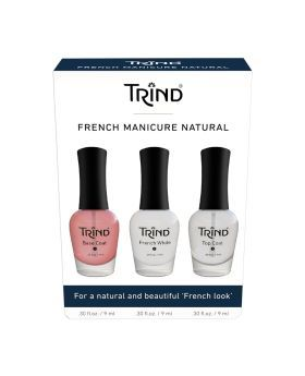Trind French Manicure Natural Set 3's