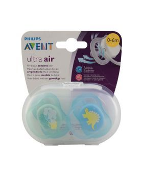 Philips Avent Soother Ultra Air 0-6 Month Mix 2's SCF344/21