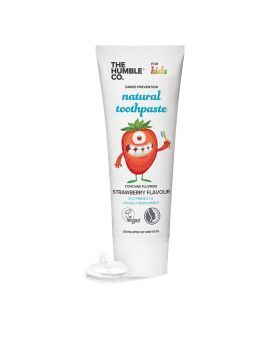 The Humble Co Natural Kids Toothpaste Strawberry 75 mL