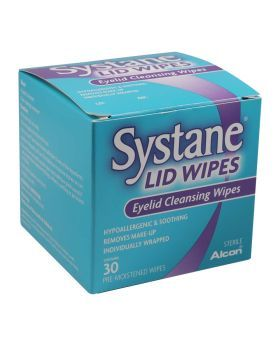 Systane Eyelid Cleansing Wipes 30's