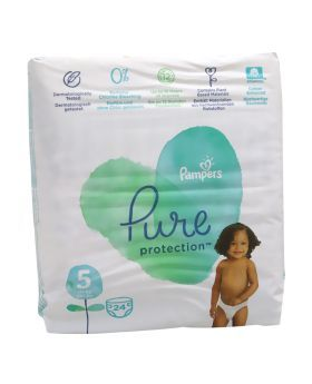 Pampers Pure Protection Diaper Size 5 11+ kg 24's