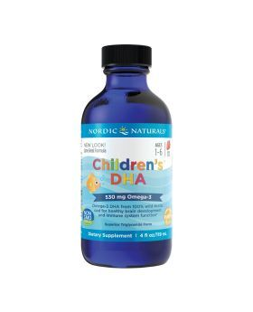 Nordic Naturals Children's DHA Omega 3 530 mg Syrup 119 mL