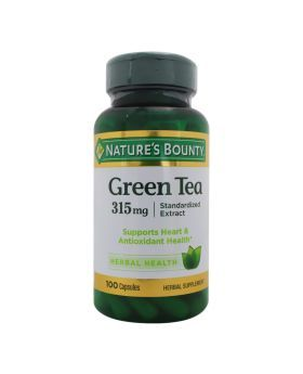 Nature's Bounty Green Tea 315 mg Standardized Extract Capsules 100's