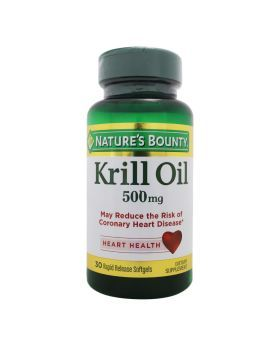 Nature's Bounty Krill Oil 500 mg Softgels 30's
