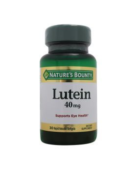 Nature's Bounty Lutein 40 mg Softgels 30's