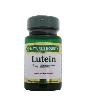 Nature's Bounty Lutein 6 mg Softgels 50's