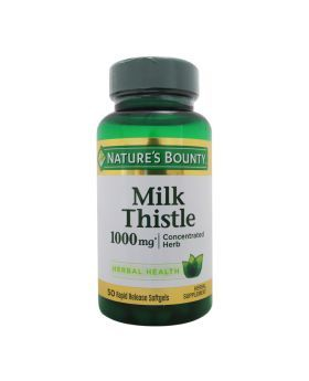 Nature's Bounty Milk Thistle 1000 mg Softgels 50's