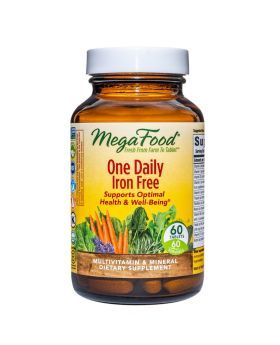 MegaFood One Daily Iron Free Tablets 60's