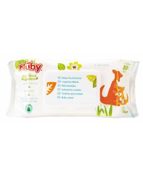 Nuby Baby Wipes 0+ month 80's