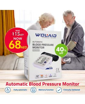 Wolaid Automatic Blood Pressure Monitor Arm Style WD03